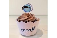Cupcake para Empresa Personalizado Recall CUP 87