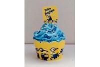 Cupcake Personalizado Minion CUP 92