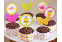 Cupcake Personalizado Butterfly