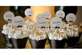 Cupcake Personalizado Felicidades CUP 73