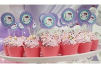 Cupcake personalizado Hello Kitty
