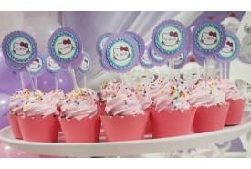 Cupcake personalizado Hello Kitty