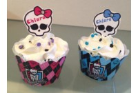 Cupcake Personalizado Monster High
