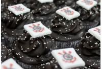 Cupcake Promocional Times - Corinthians