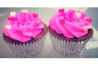 Cupcake Tradicional - Love Hearts