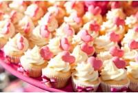 Mini Cupcakes de Coração